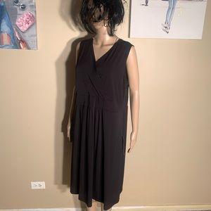 Avenue Size 18/20 Little Black Dress Flare